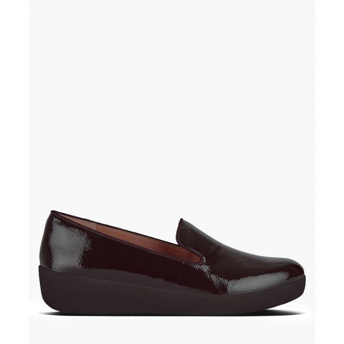 Image for Audrey berry patent leather slip-ons