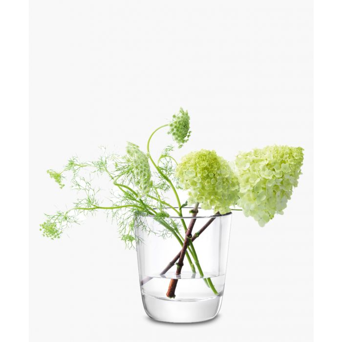 Image for Otto clear glass vase 18cm