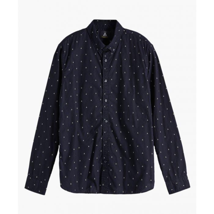 Image for Combo print pure cotton shirt