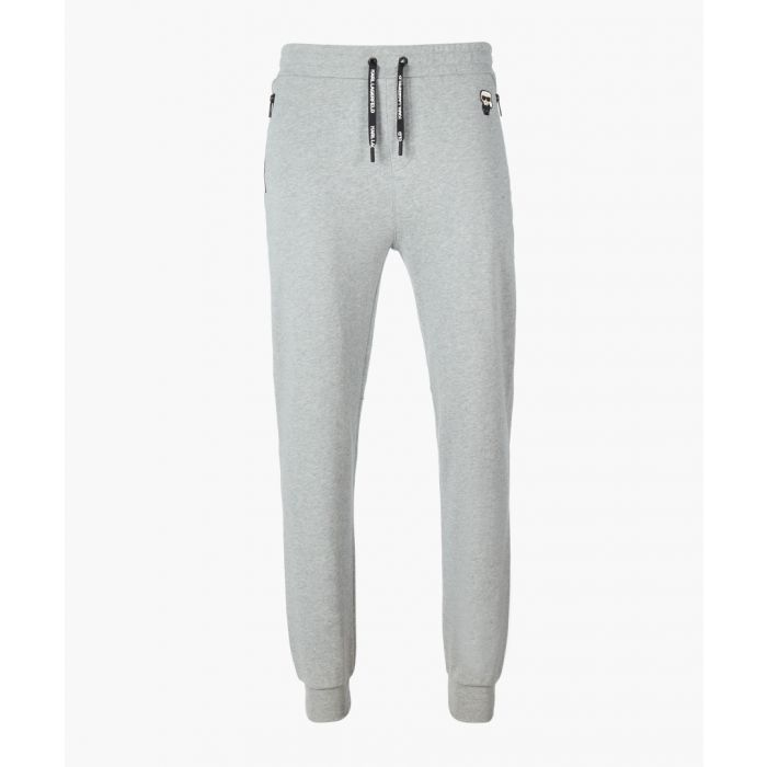 Image for Grey drawstring joggers