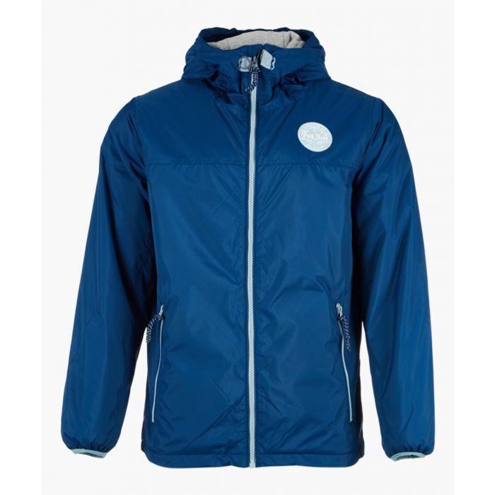 Image for Dark blue zip-up jacket