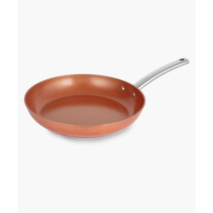 Image for Copper-tone forged frying pan 32cm