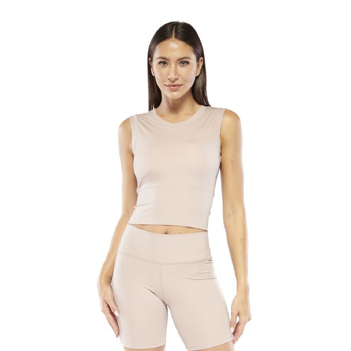 Image for Cropped Top with Built in Padding