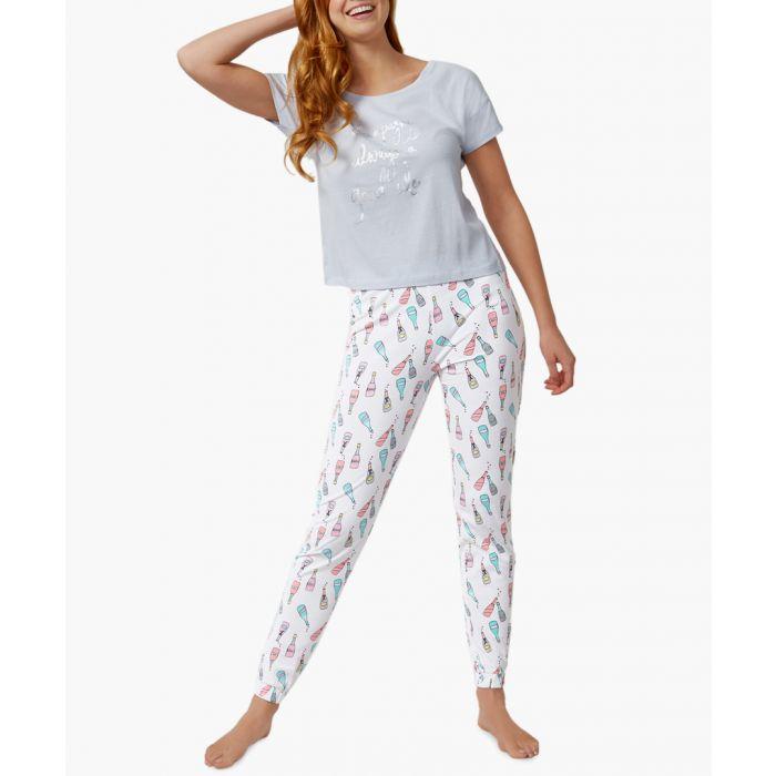 Image for Multi-coloured pyjama set
