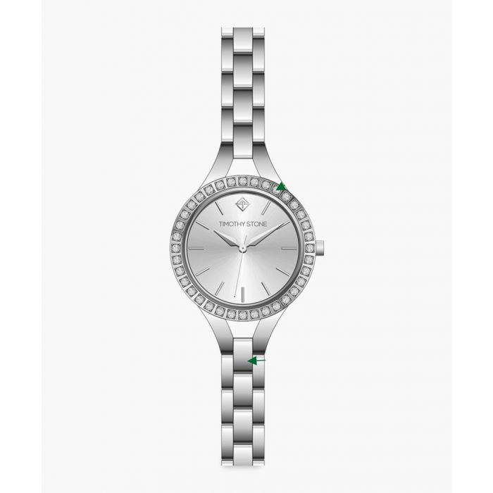 Image for Joliet silver-tone watch