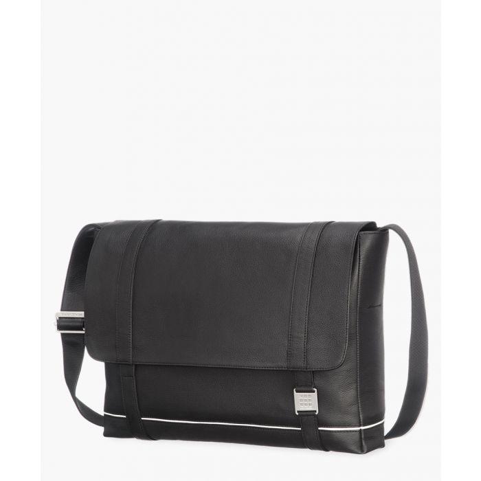 Image for Leather messenger bag