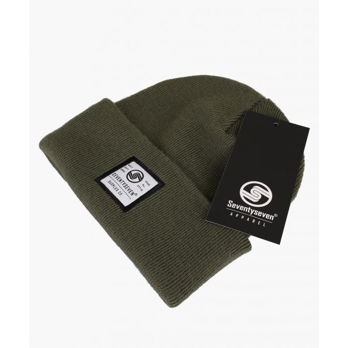 Image for Green beanie