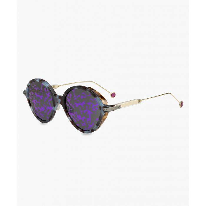 Image for Umbrage light blue and Havana sunglasses