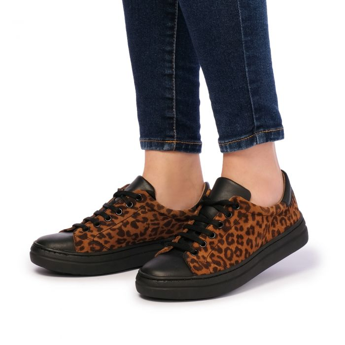 Image for Leopard printed trainers