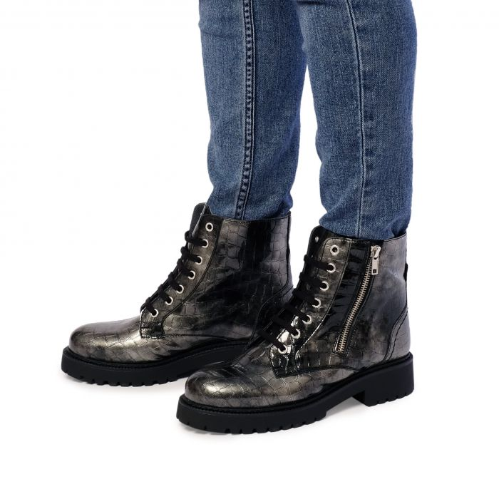 Image for Womens grey ankle boots