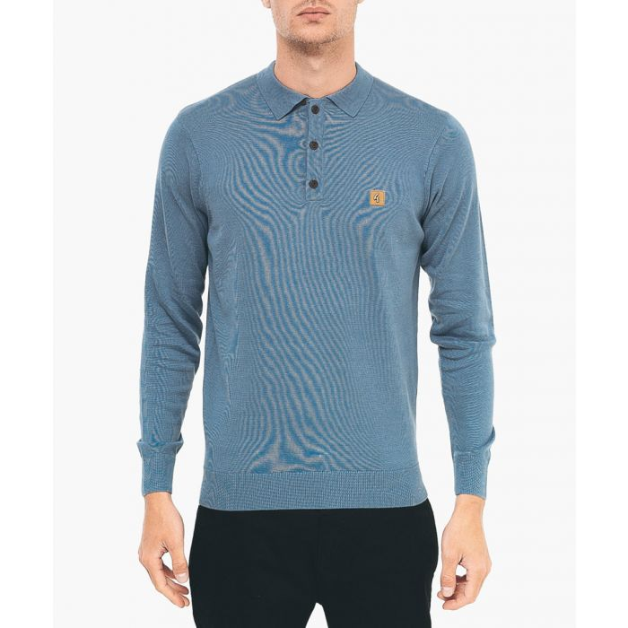 Image for Shadow cotton blend polo shirt