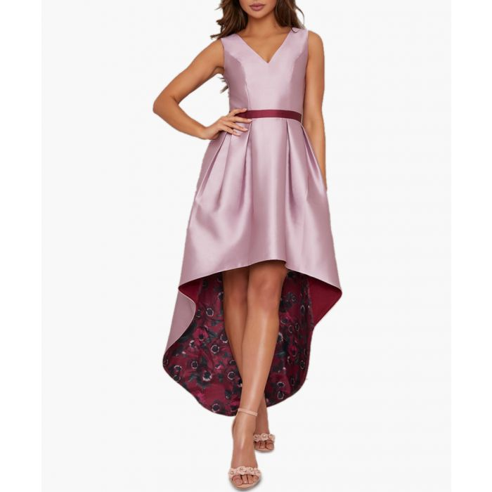 Image for Safia mink mini dress