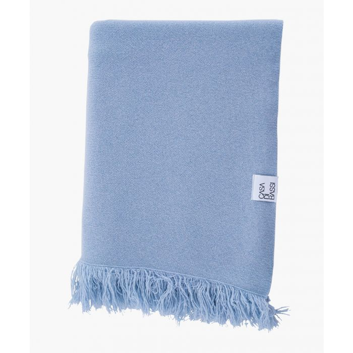 Image for Soft and cosy celeste cashmere scarf