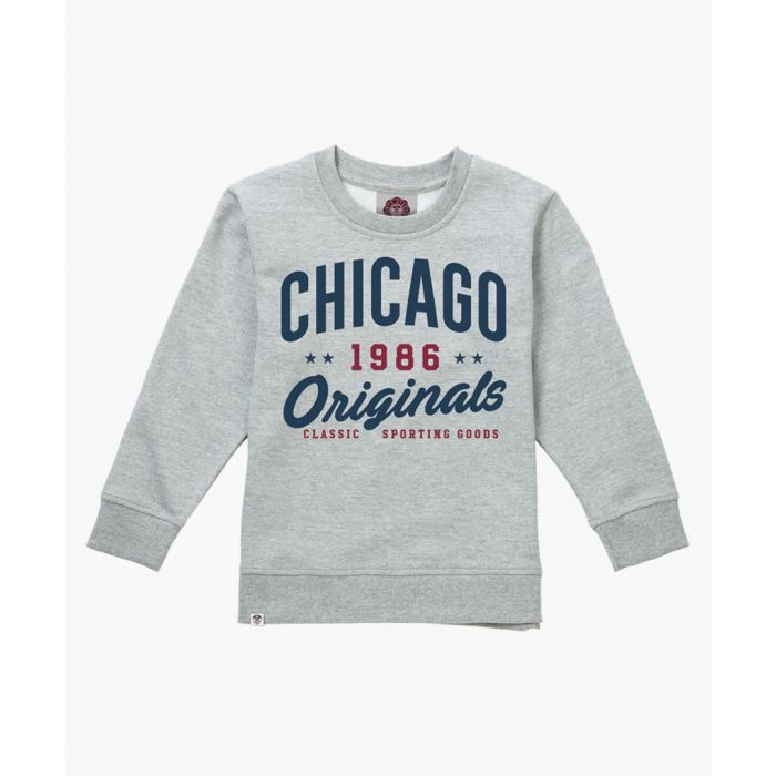 Image for Grey varsity sweater