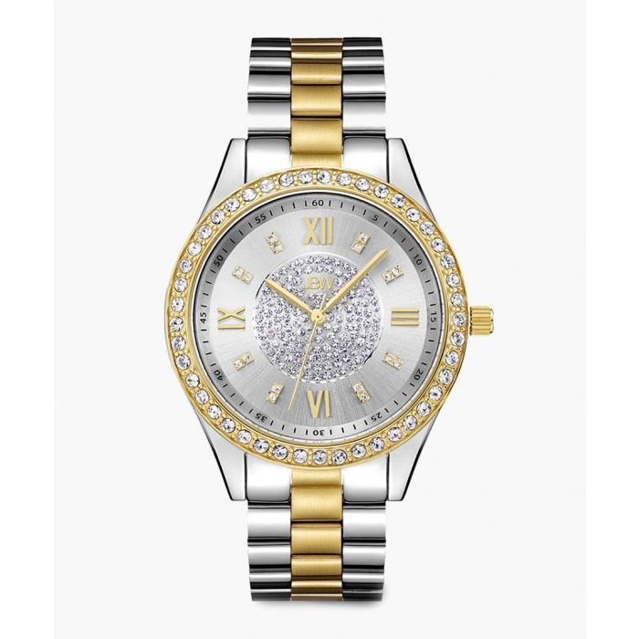 Image for Mondrian two-tone gold and stainless steel watch