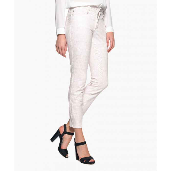 Image for Clarissa tea time pixel print ankle jeans