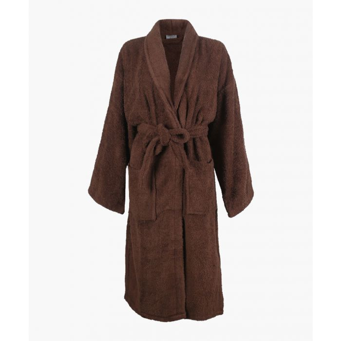Image for Chocolate Egyptian cotton bath robe