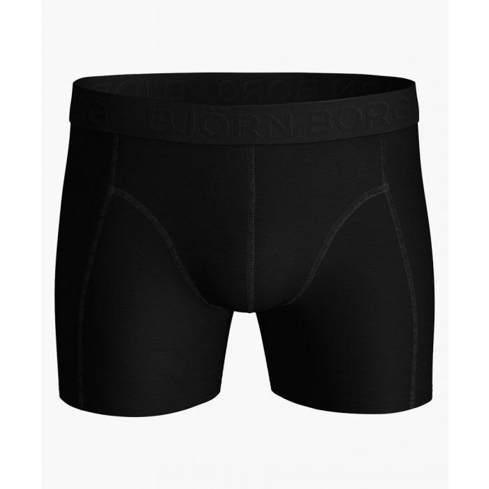 Image for Sammy black tencel blend shorts
