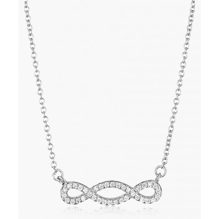 Image for Infinitely silver-plated necklace