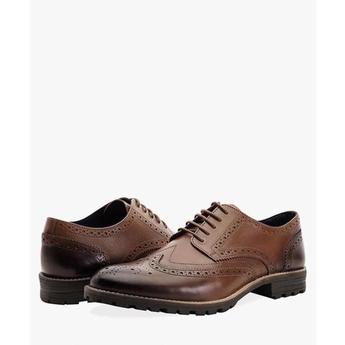 Image for Tan new edenfield derby brogues