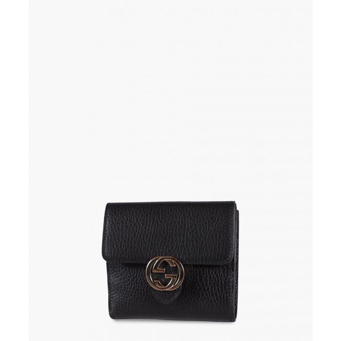 Image for Gucci Leather Interlocking small wallet Wallets