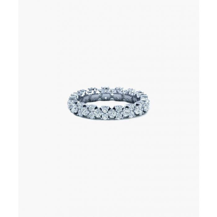 Image for 9k white gold eternity ring