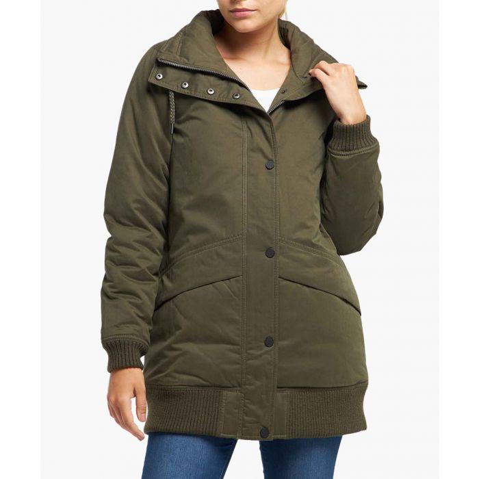 Image for Military olive jacket
