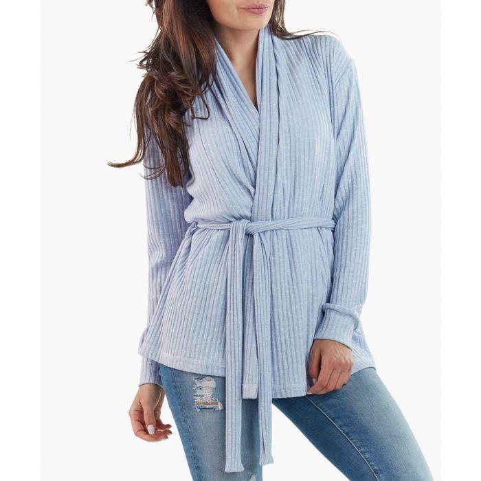 Image for blue cardigan