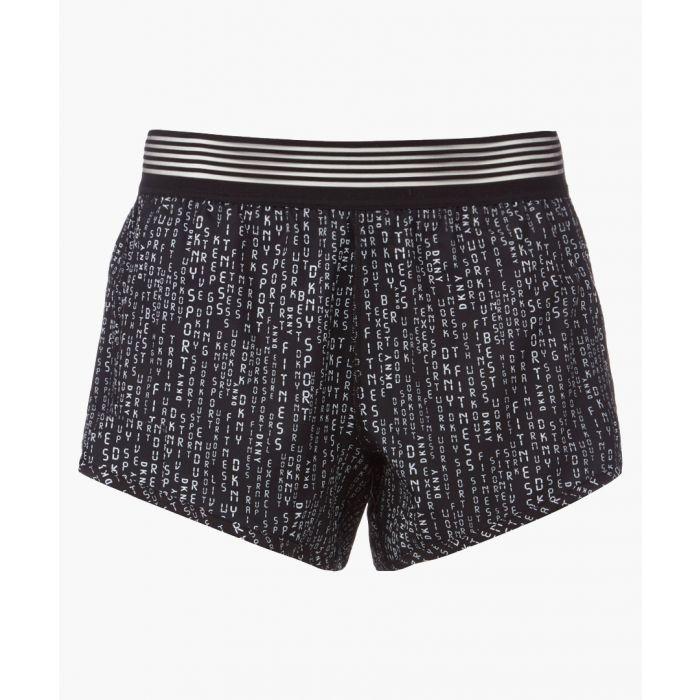 Image for Matrix black printeded shorts