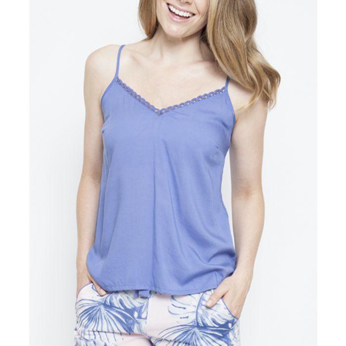 Image for Isla lavender cami pyjama top