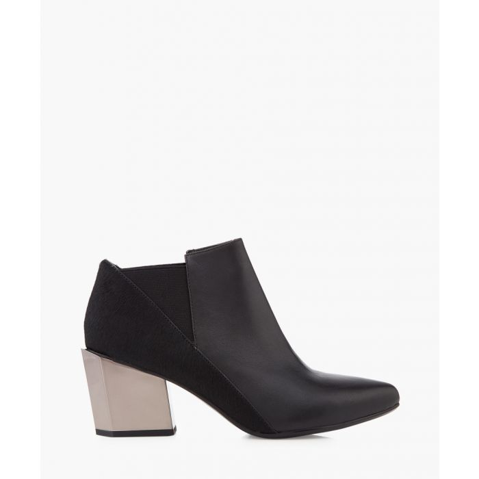 Image for Tetra Jacky leather mid-heel boots