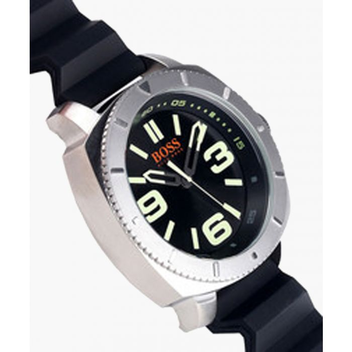 Image for Sao Paulo silver-tone steel watch