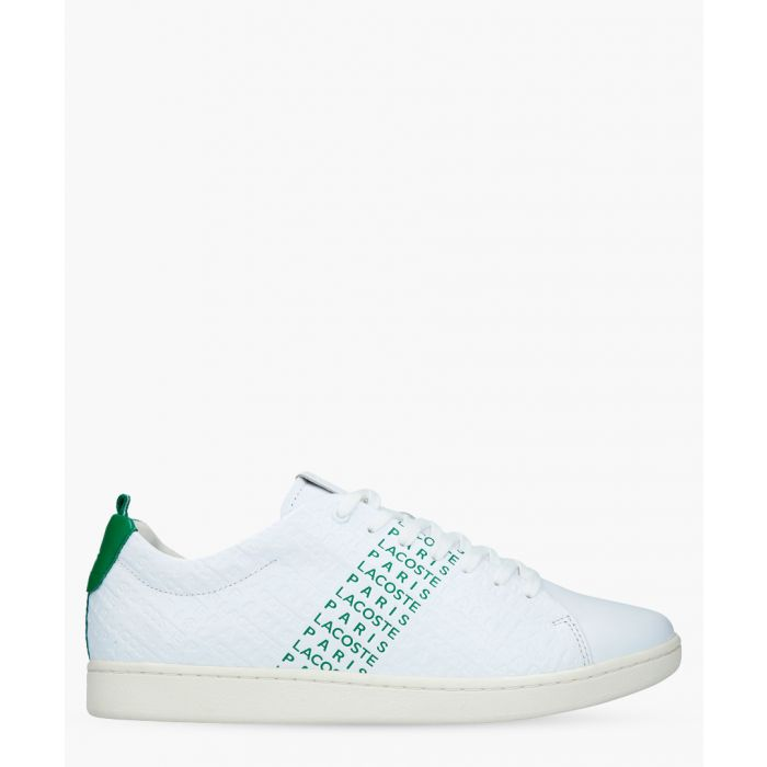 Image for Carnaby Evo 119 white & green sneakers.