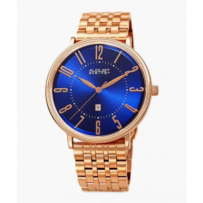 Image for Rose gold-tone stainless steel watch