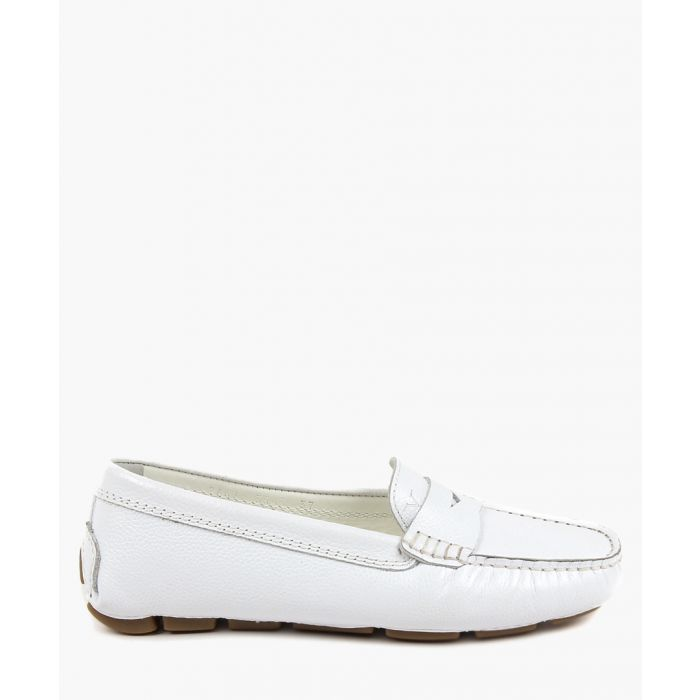Image for White loafers