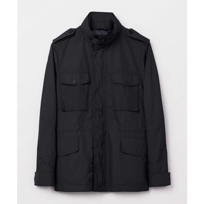 Image for Black utility pocket jacket