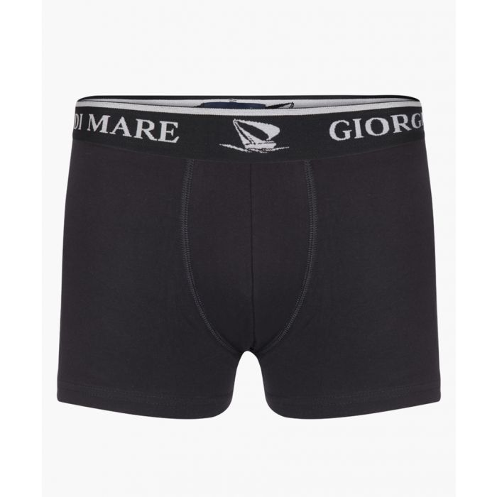 Image for Black and bordeaux printed boxers