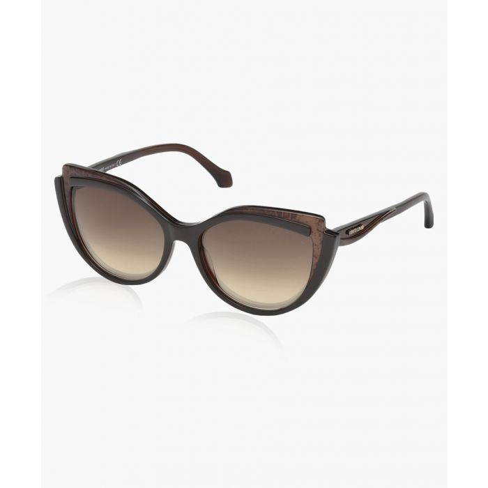 Image for Chianciano brown sunglasses