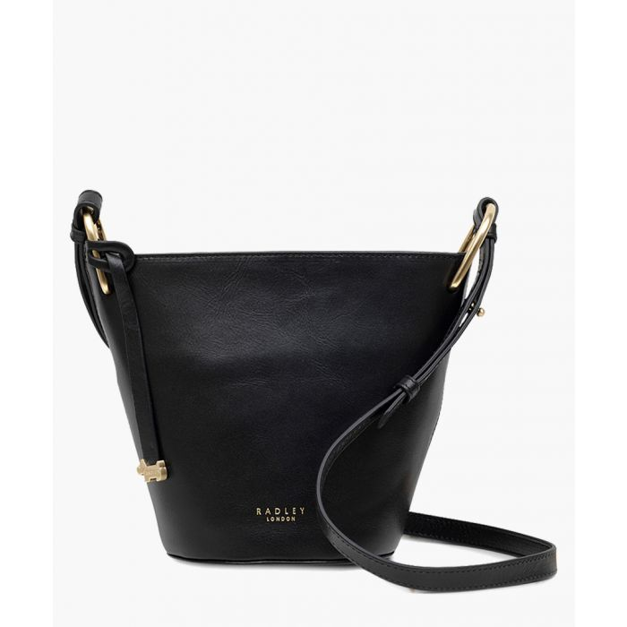 Image for Black zip-top crossbody