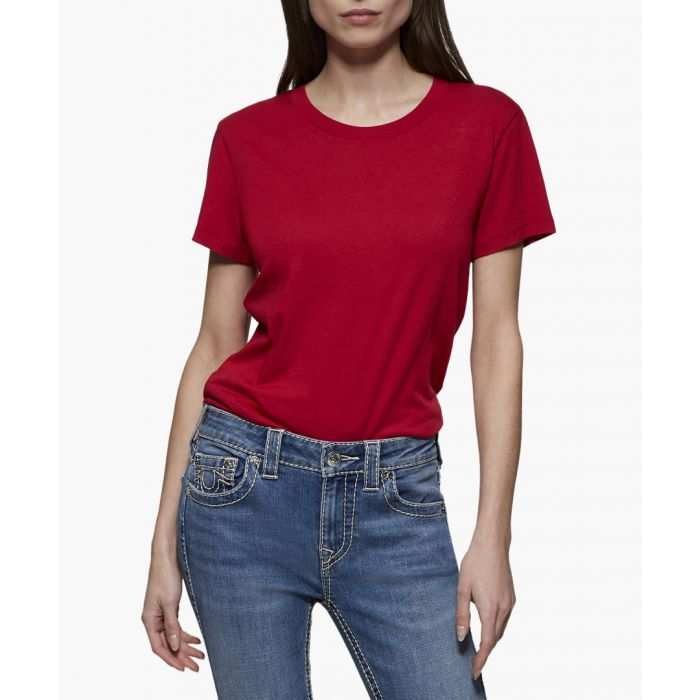 Image for True Religion Red T-Shirts