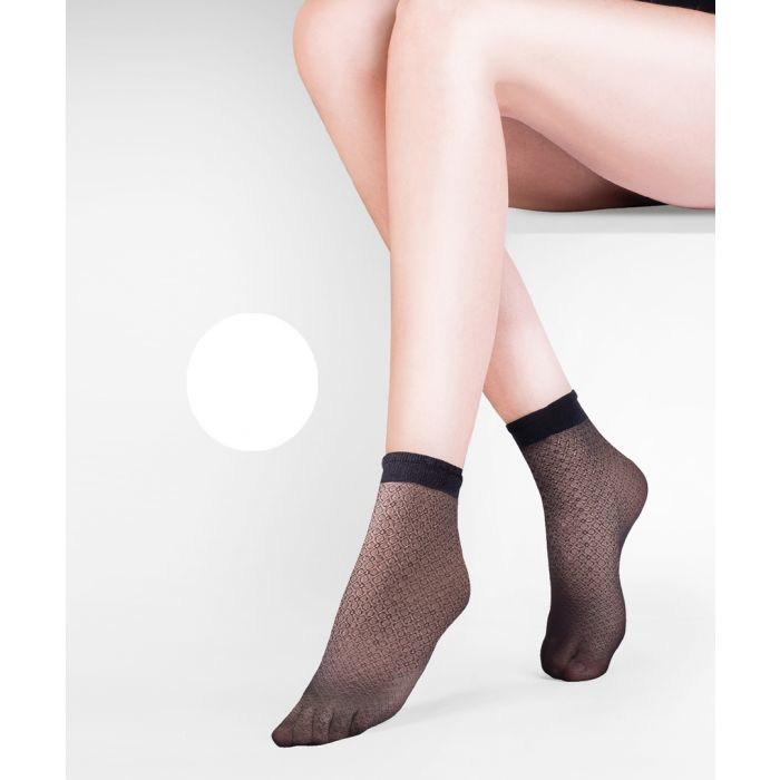 Image for Flo blanc ankle socks 20 denier