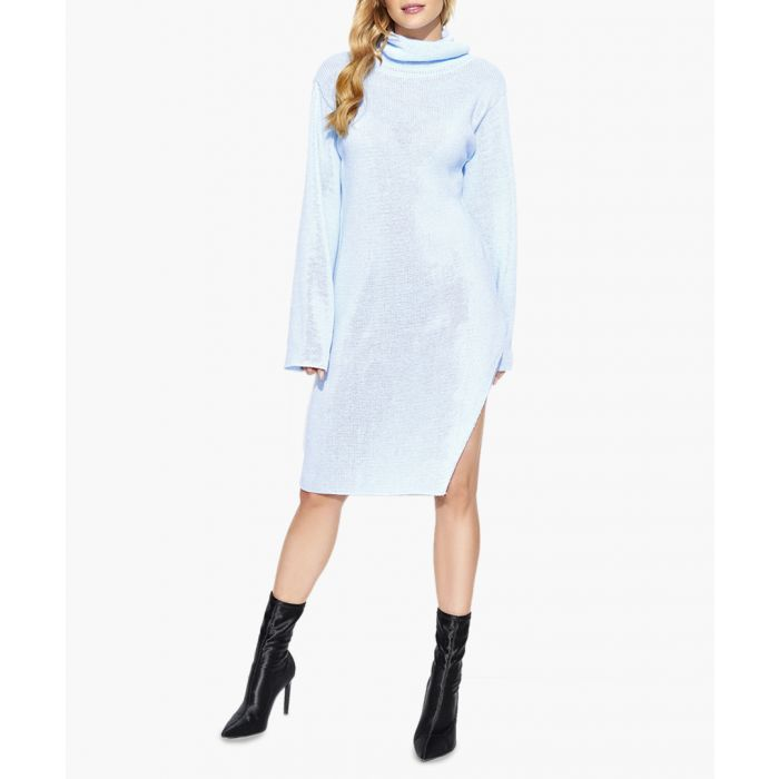 Image for Light blue knitted sweater