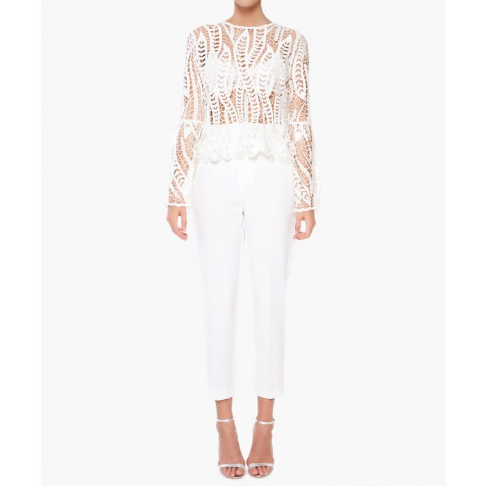 Image for White Trousers