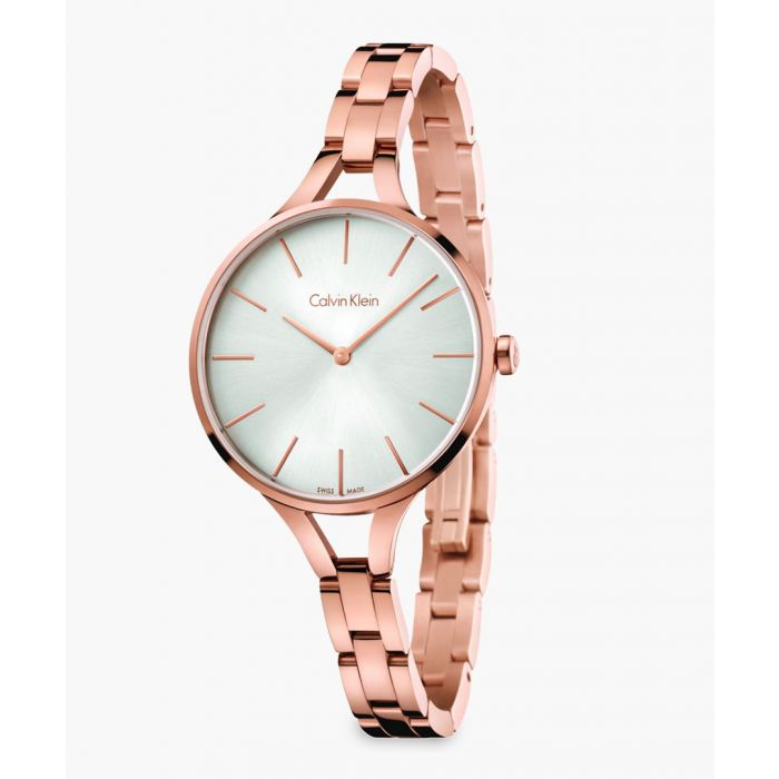 Image for Womens rose gold-plated watch