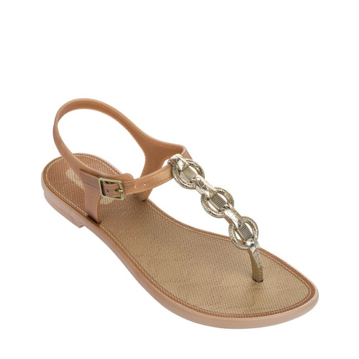 Image for Links gold-tone decorative sandals