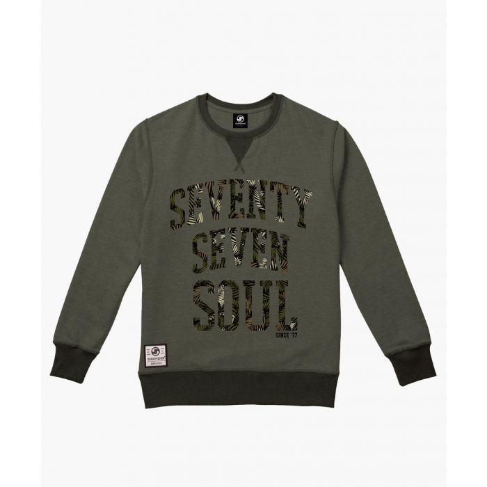 Image for Olive crew neck sweater