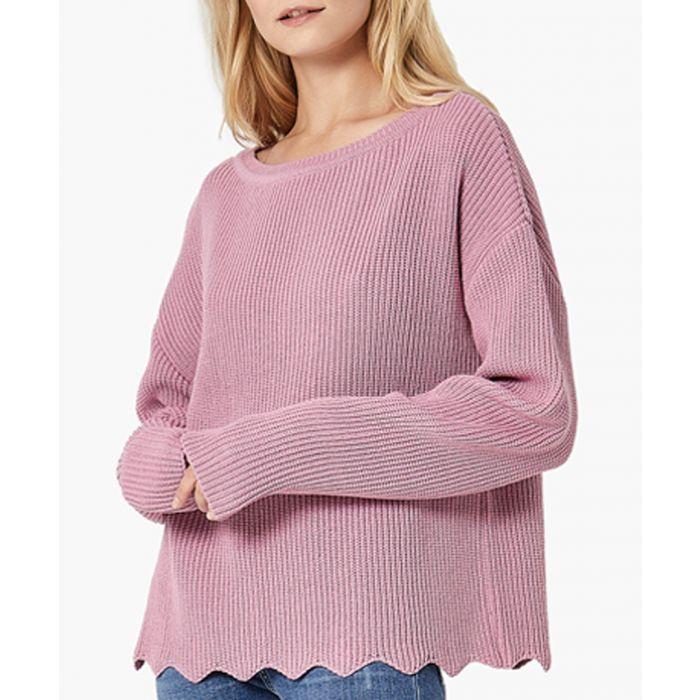 Image for Pink loose cut jumper