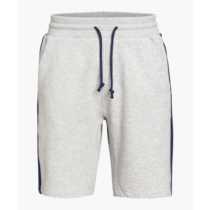 Image for Grey pure organic cotton shorts