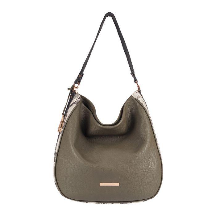 Image for The Large Mara leather shoulder bag