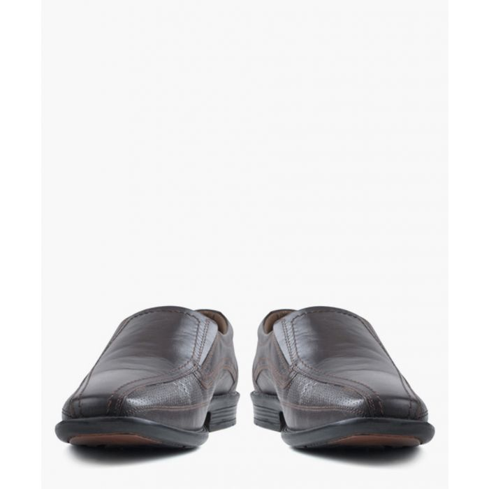 Image for Maurri chocolate leather shoes